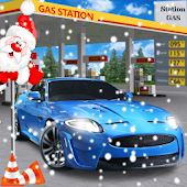 Gas Station Car Driver: Driving Games