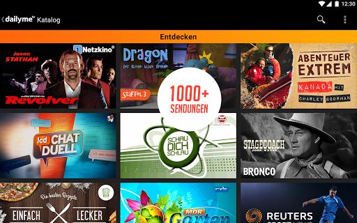 dailyme TV, Serien, Filme & Fernsehen TV Mediathek 20.05.02 screenshots 11