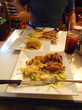 Photo: El Jibarito for amazing meats, rice, and mofongo (mashed plaintains). Cheap and delicious.