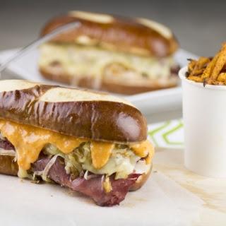 Turkey-Pastrami Reuben Sandwich
