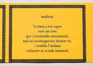Photo: malson