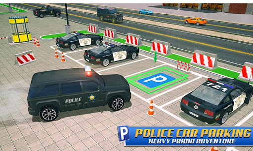 Police Car Parking: Police Jeep Driving Games screenshots 3