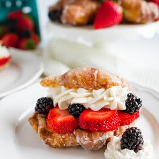 Sweet Berry Croissants.