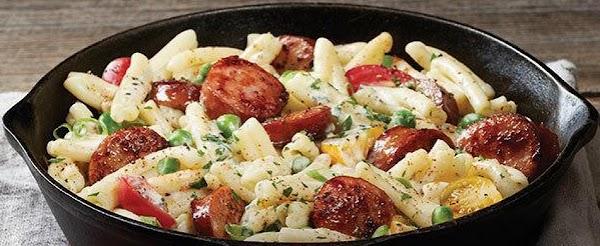 Sausage Alfredo Recipe