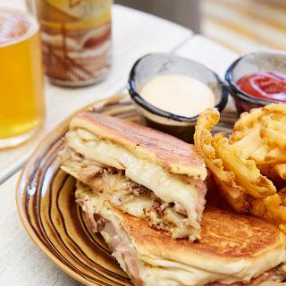 Cuban Grilled Cheese Sandwich.