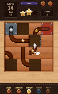 Roll the Ball: slide puzzle: miniatura de captura de pantalla