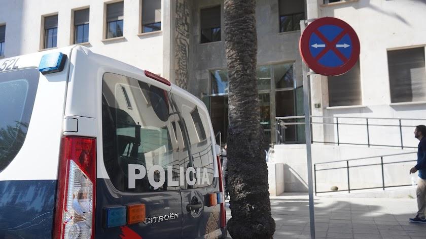 La Policía Nacional vela por la seguridad del juicio