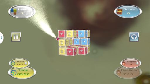Cubes Scud 3D - smart puzzler