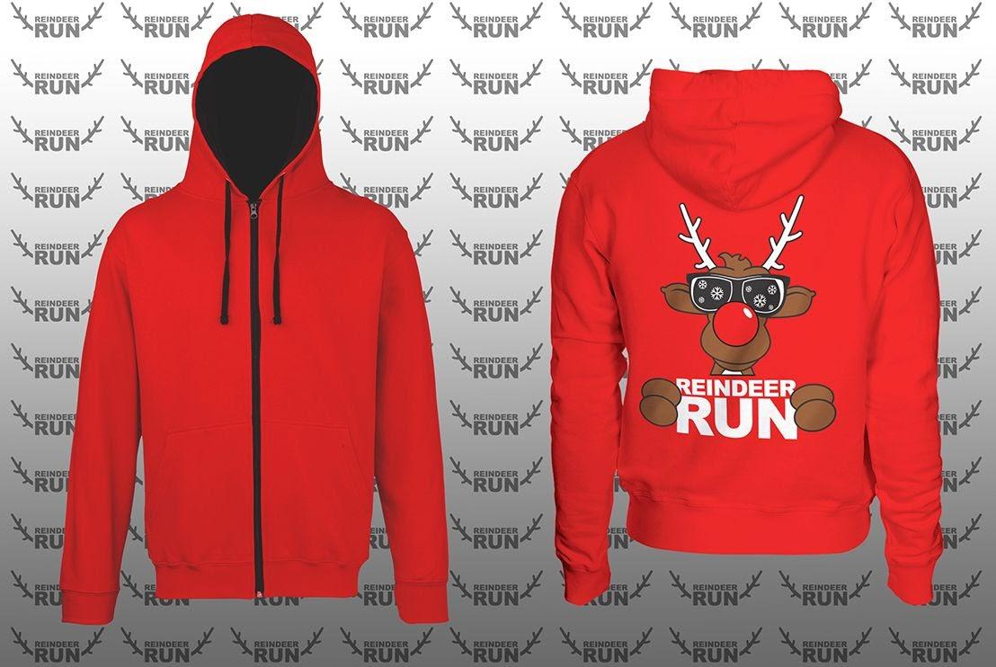 Optional CRW Reindeer Run Zoodie