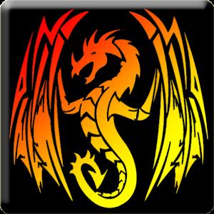3D Tribal Dragon Tattoo LWP