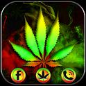 Neon Rasta Weed Theme icon