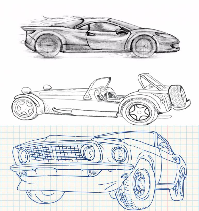 how to draw cars screenshot