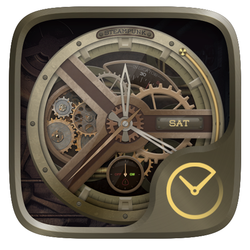 Steampunk GO Clock Themes