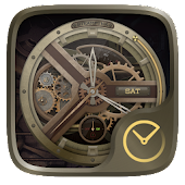 Steampunk GO Clock Themes