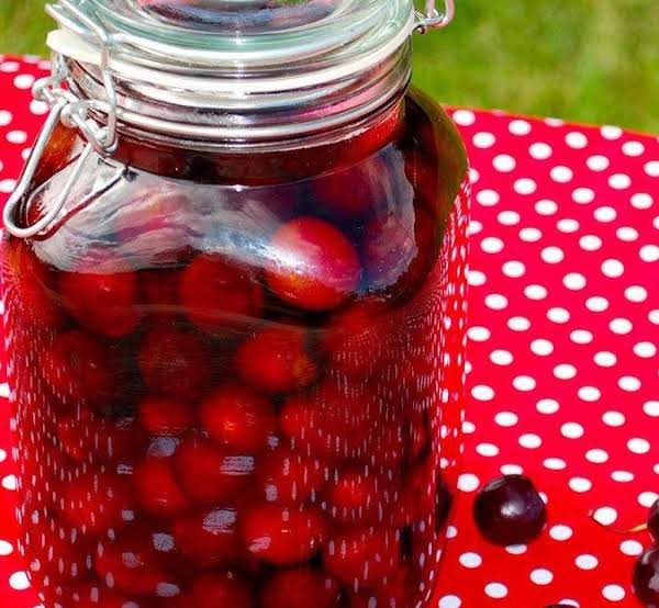 Tipsy Cherries (made With Fresh Cherries) Recipe