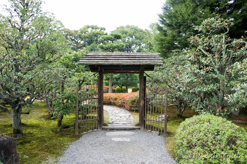 Nijo Castle gardens