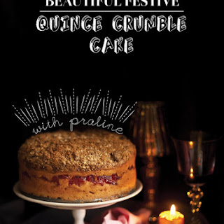Declaration of Intention and a Quince Crumble Cake