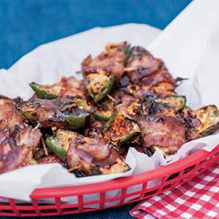 Smokey Stuffed Jalapenos with Bacon