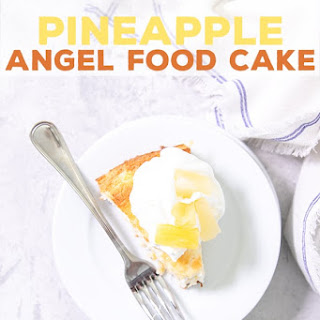 Pineapple Gluten Free Angel Food Cake.