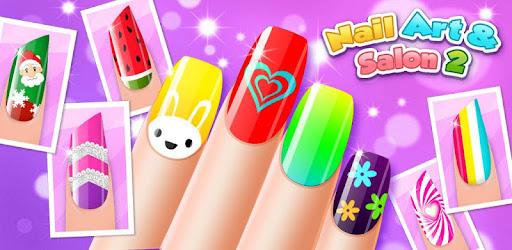 Nail Art Shiny Design Salon - Sweet Girls Manicure