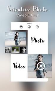 Valentine Photo Video Editor - náhled