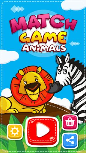 Match Game - Animals screenshots 17