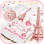 Pink Paris Rose Keyboard Theme - Rose EiffelTower file APK for Gaming PC/PS3/PS4 Smart TV