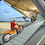 Airplane Bike Cargo Transport