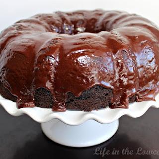 Chocolate Crack Cake.