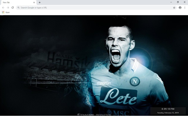 SSC Napoli New Tab & Wallpapers Collection