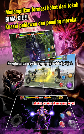 SATRIA HEROES /from Satria Garuda BIMA-X and MOVIE 1.08 de.gamequotes.net 2