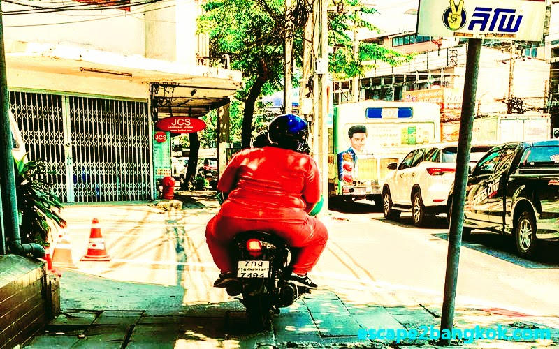 タイでバイク乗りタイ