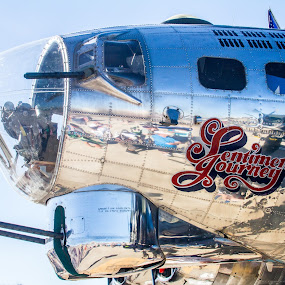 by William Stansbury - Transportation Airplanes ( nose art, b17, bomber, super fortress, air plane,  )
