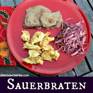 Fall Recipe Favorite - Sauerbraten