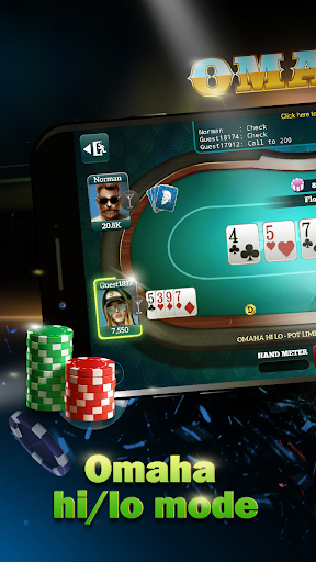Live Poker Tablesu2013Texas holdem and Omaha  screenshots 3