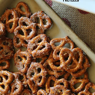 Quick & Easy Cinnamon Pretzels.