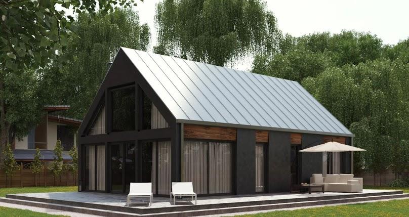 Niewielki projekt funkcjonalnego domu