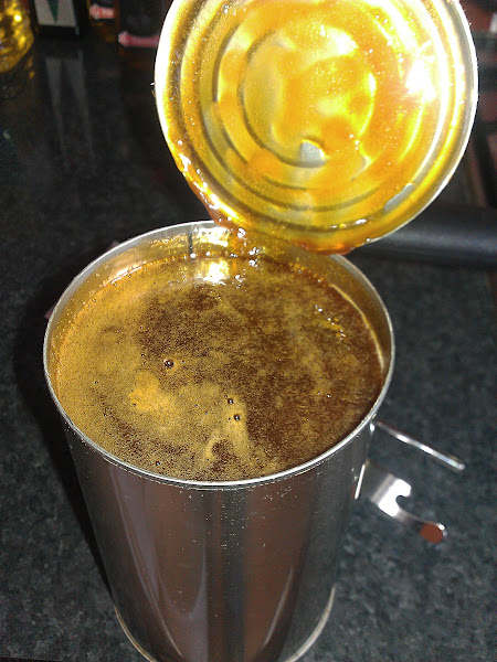 Photo: heated/softened syrup. God it smells sooo good - very malty and sweet