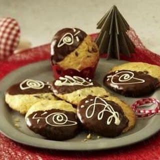 Weihnachts-Choco-Cookies