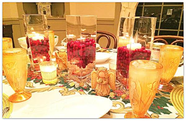 Cranberry Tablescape Recipe