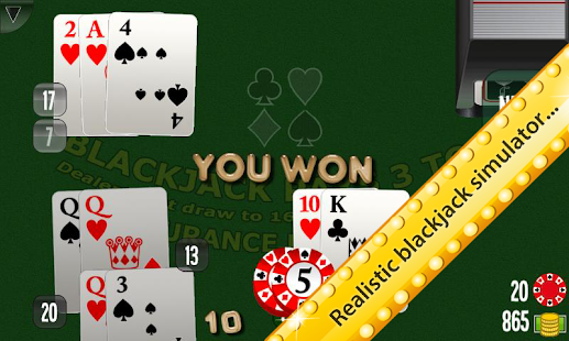 Ultimate BlackJack 3D Reloaded- screenshot thumbnail