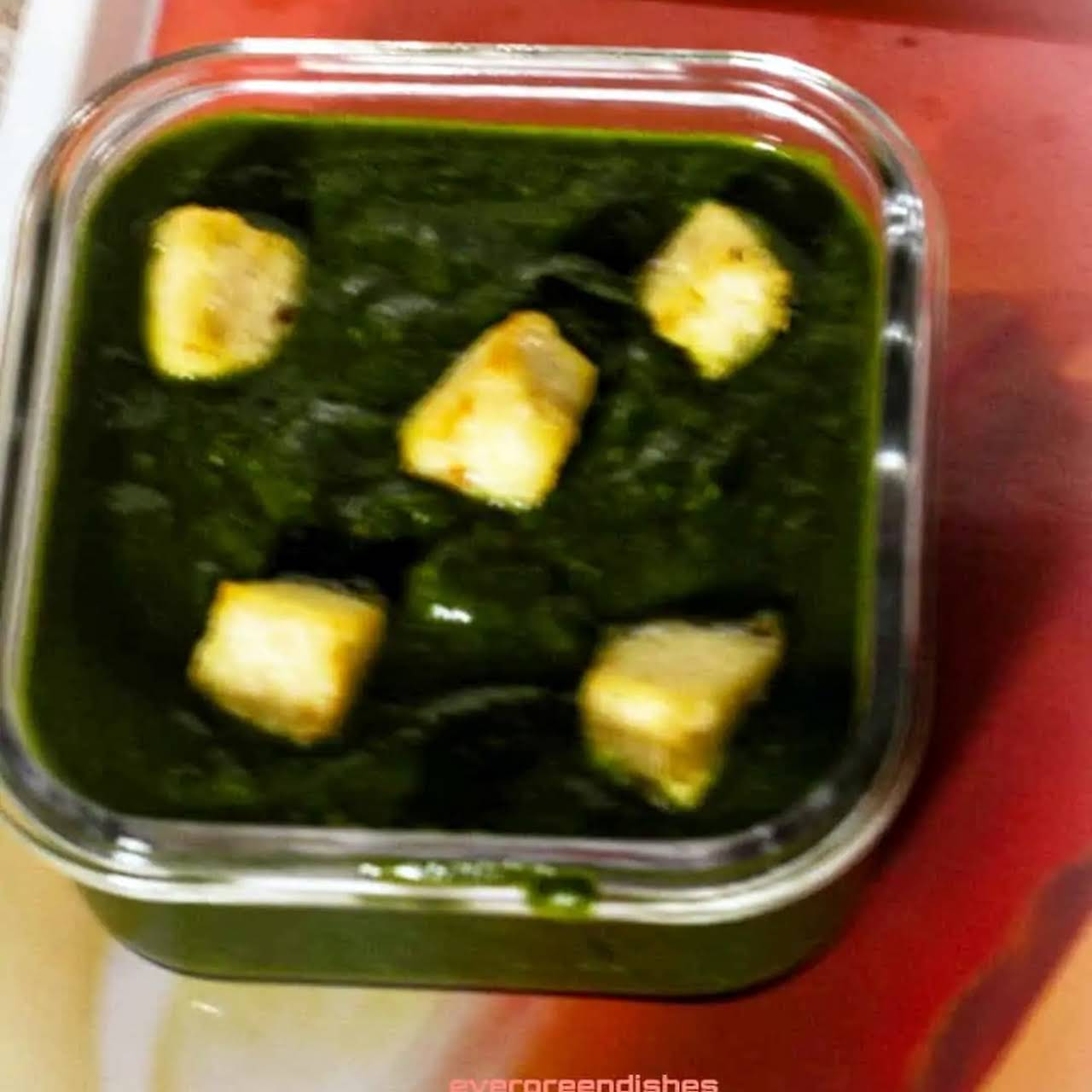 Difference  along with Palak Paneer and Methi Chaman