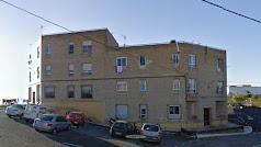 Bloque de viviendas conocidas como Los Depósitos en el municipio de Adra.