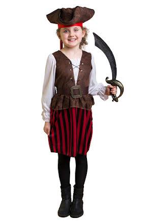 Barndräkt, Randig piratklänning