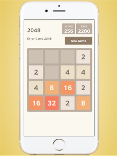 2048 Free Puzzle Brain Games - náhled