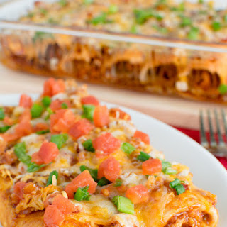 Monterey Chicken Enchiladas