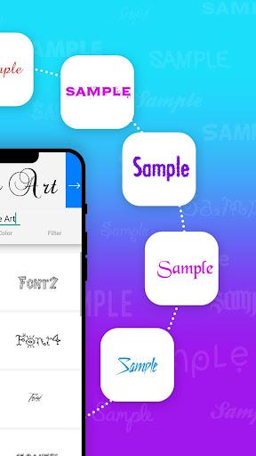 Name Art - Focus Filter - Name Card Maker 1.1.4 screenshots 4