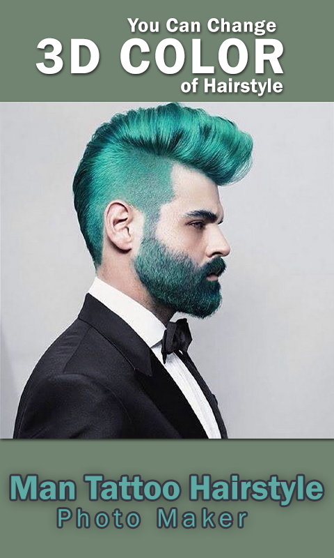 Man Tattoo Hairstyle Editor Android Apps On Google Play