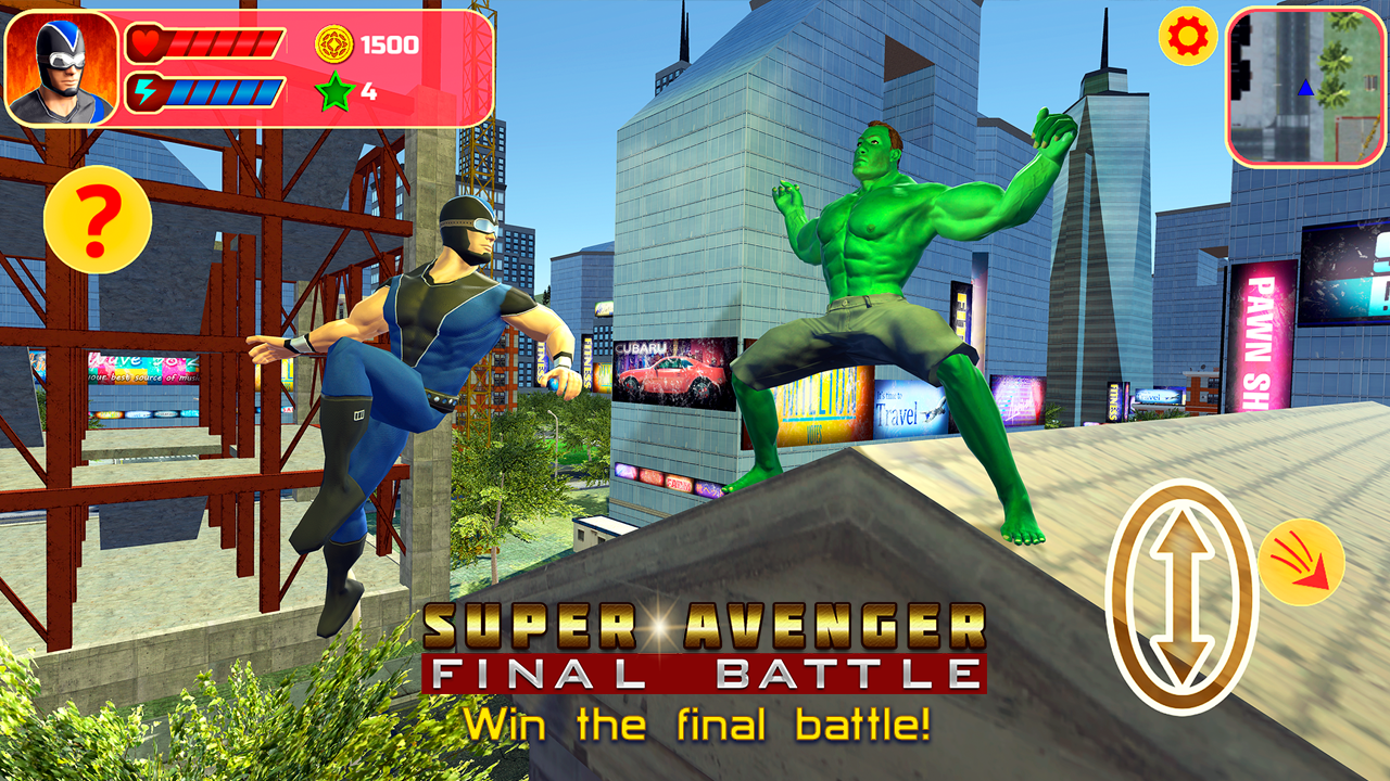 Super Avenger: Final Battle- screenshot
