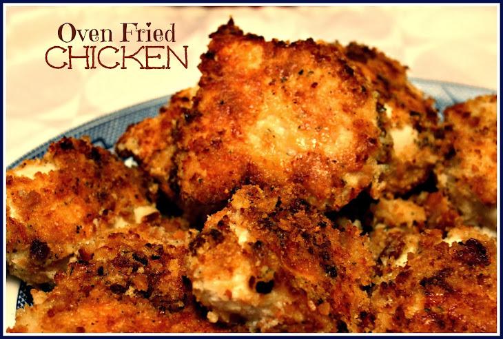 Oven Fried Chicken! Recipe